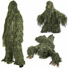 Nitehawk Adults Woodland Camo/Camouflage 3D Hunting Ghillie Burlap Suit