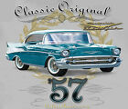 GM / Chevrolet Bel-Air Original Classic SILVER Adult T-shirt