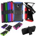 Phone Case For Straight Talk ZTE Rapito LTE Z932L Rugged Cover Stand + Holster