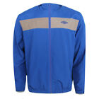Umbro Mens Blue Polyester Hooded Track Jacket (61621U OZC) DR166