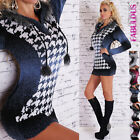 New Sexy Thick Warm Womens Sweater Dress Top Size 10 12 14 Hoodie Jumper Fashion