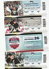 2013-14 PITTSBURGH PENGUINS SEASON TICKET STUB PICK YOUR GAME CROSBY MALKIN