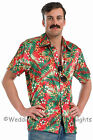 M L XL Hawaiian Flower Shirt Fancy Dress Costume 80s TV  Mens Stag Night Outfit