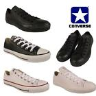 Leather Converse Unisex Trainers Shoes Ladies Womens Girls Boys School Sports UK