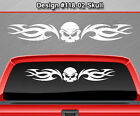 Design #118-02 Skull Back Window Decal Sticker Vinyl Graphic Tribal Car Truck