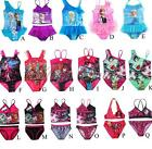 Girl Kids Toddler Beachwear Princess Monster High Swimsuit Swimwear Bathing Swim