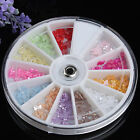 Multi style Bows Pearl Nail Art Stone Wheel Rhinestones Beads Decoration Wheel