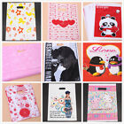 Cute Prints Pattern Plastic Carrier Bags Shopping Boutique Gift Package BS