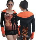 The Cure Rock DIY Funky Pullover Corset Hoodie Top Shirt