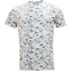 Levi Strauss Graphic T Shirt All Over Print White