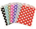 POLKA DOT SPOT PAPER SWEET BAGS PICK N AND MIX BAG GIFT BAGS WEDDING CANDY CART