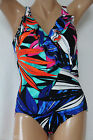 *NEW INC International Concepts Multicolored Ruffled  Swimsuit 8 10 12 14 20 22W