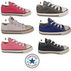 Toddlers Converse Unisex Infant All Star Chuck Taylors Trainers Shoes UK 4 5 6-9