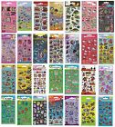 Small FOIL STICKERS - Huge Range Of Characters (School/Craft/Reward) {.006.}