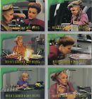 STAR TREK VOYAGER SEASON 1 SERIES 2 NEELIX RECIPES CARD SINGLES