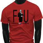 HOUSE OF CARDS FU FRANK UNDERWOOD Mens Red T-Shirt