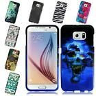 For Samsung Galaxy S6 Design Snap on Plastic Cover Case