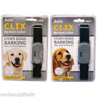 Clix No Bark Dog Collar Anti Bark Collars Small or Large Obedience Training