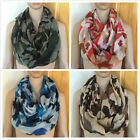 D&Y Women Fashion Digital Camouflage Print Circle Loop Infinity Scarf (4 Colors)