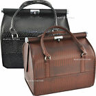 1 Color x Crocodile Print Style Makeup Jewellery Bag Case (Removable Tray) 1203