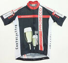 Prosecco CYCLING SHORT SLEEVE JERSEY (fitted / Race cut) Made in Italy by GSG