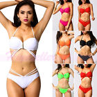 Women Sexy Push-up Bra Bandage Bikini Set Swimsuit Beachwear Swimwear Top Bottom