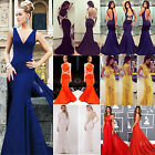 Women Ladies Wedding Gown Evening Formal Party Cocktail Bodycon Club Maxi Dress