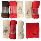 PET125065- Country Club Jumbo Pet Blanket- 3 Colours- Great Price!