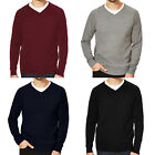 Slazenger Seve Mens V Neck Knitted Golf Pullover Jumper Sweater Top
