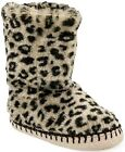 Carter's Toddler Girl's Leopard Print Bootie Slippers Small Medium Large NWT $24