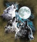 """3 WOLF MOON"" MOUNTAIN NATIVE AMERICAN T-SHIRT"