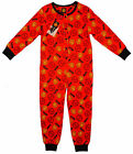 Boy's MANCHESTER UNITED MUFC Logo All in One Sleepsuit Romper 3-10 Years NEW