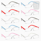 10 PAIRS - NEW RIMLESS READERS READING GLASSES - STRENGTH +3.00/+3.0