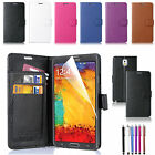 Luxury Magnetic Flip Cover Stand Wallet Leather Case For Samsung Galaxy Note 3