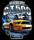 FORD SHELBY GT 500 YELLOW MUSTANG SWEAT SHIRT BLACK