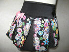 NEW Baby Girls Black pink white blue skulls floral Skirt Gift Party Rock retro