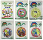 SESAME STREET Foil Balloons (Large Range)(Birthday/Get Well/General) Retro/Party