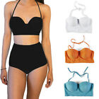S M L XL XXL Womens Sexy Swimwear High Waisted Bikini Set  Swimsuit Underwear