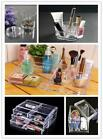 1x Fashion Clear Make-up Cosmetic Storage Box Cosmetic Brush Container Holder Z