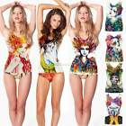 15 Type Sexy Womens Painting Vest Tank Tops Sleeveless Bodycon Shirt Blouse Cami