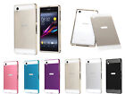 For Sony Xperia Z1 Ultra Thin Back Cover Aluminum Metal Bumper Case Frame Case
