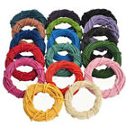 Lots 3/10/100M Real Leather Charms Rope String Cord 2.0 mm Finding DIY Necklace