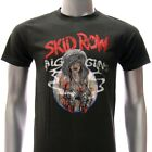 ASIA SIZE Sz S M L XL Skid Row T-shirt Heavy Metal Music Tour Concert Many Size