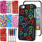 New Hard Back Stylish Case Cover For APPLE iPhone 4/4S & Free Screen Protector