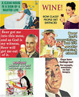 Retro Humorous Fridge Magnet Rude Humour Funny Novelty Metal Magnets