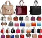 Ladies Women's Large  Designer Fashion Celebrity Tote Bags Shoulder Handbag