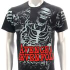 Sz S M L XL XXL 2XL Avenged Sevenfold A7X T-shirt  Nightmare Black Many Size