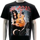 Sz S M L XL XXL 2XL Guns N' Rose T-shirt Slash Appetite Black Many Size Gn42