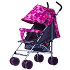 Folding Baby Travel System Carriage Pushchair Durable Infant Pram Buggy Stroller