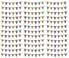Ages 21-100 Birthday Pennant BUNTING 8m (Banner/Party/MultiColour/Holographic)